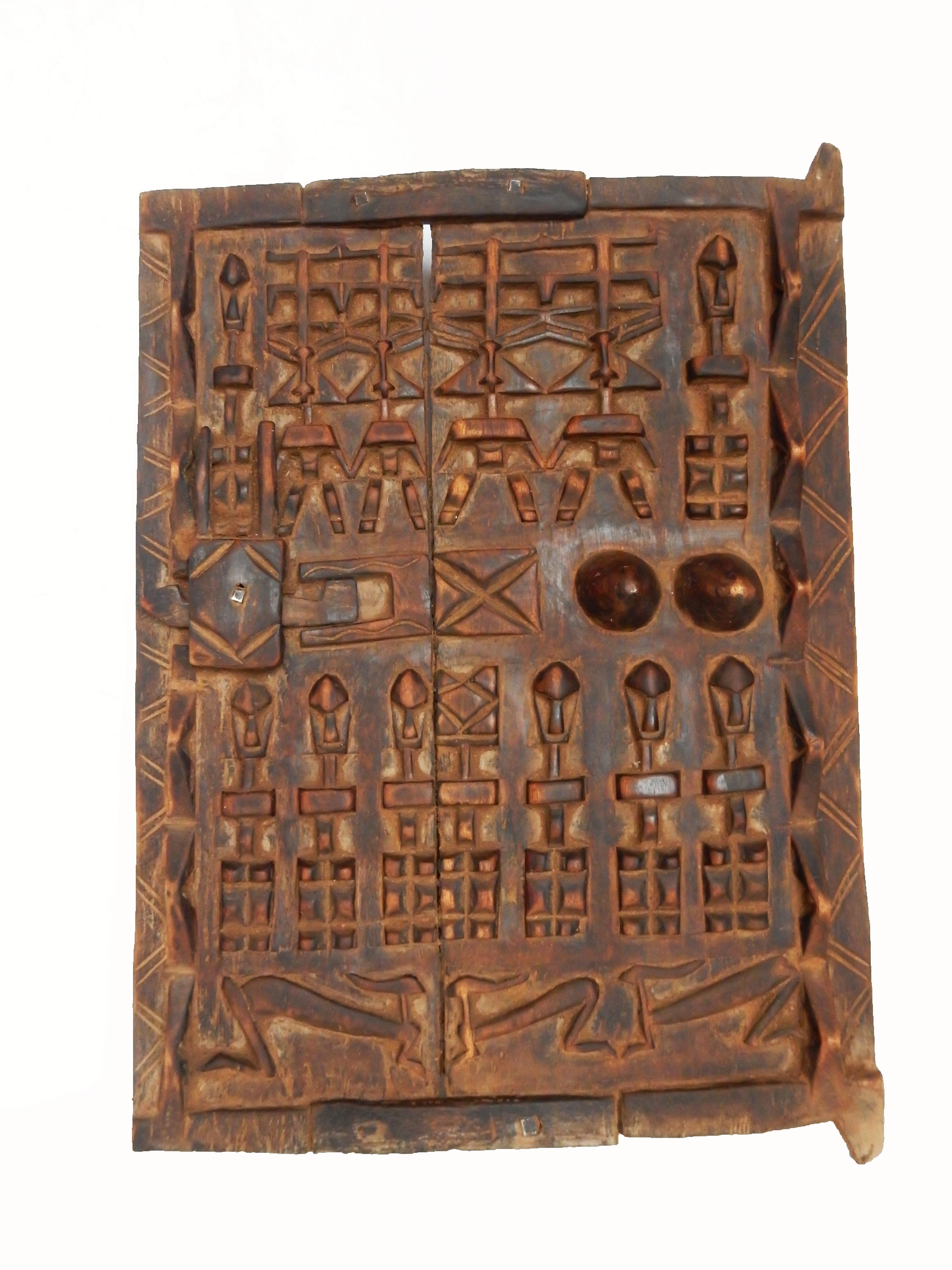 African Dogon Granary Door - Image 1 of 4  sc 1 st  Chairish & African Dogon Granary Door   Chairish