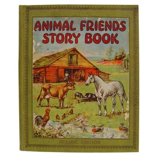 1928 Animal Friends Story Book For Sale