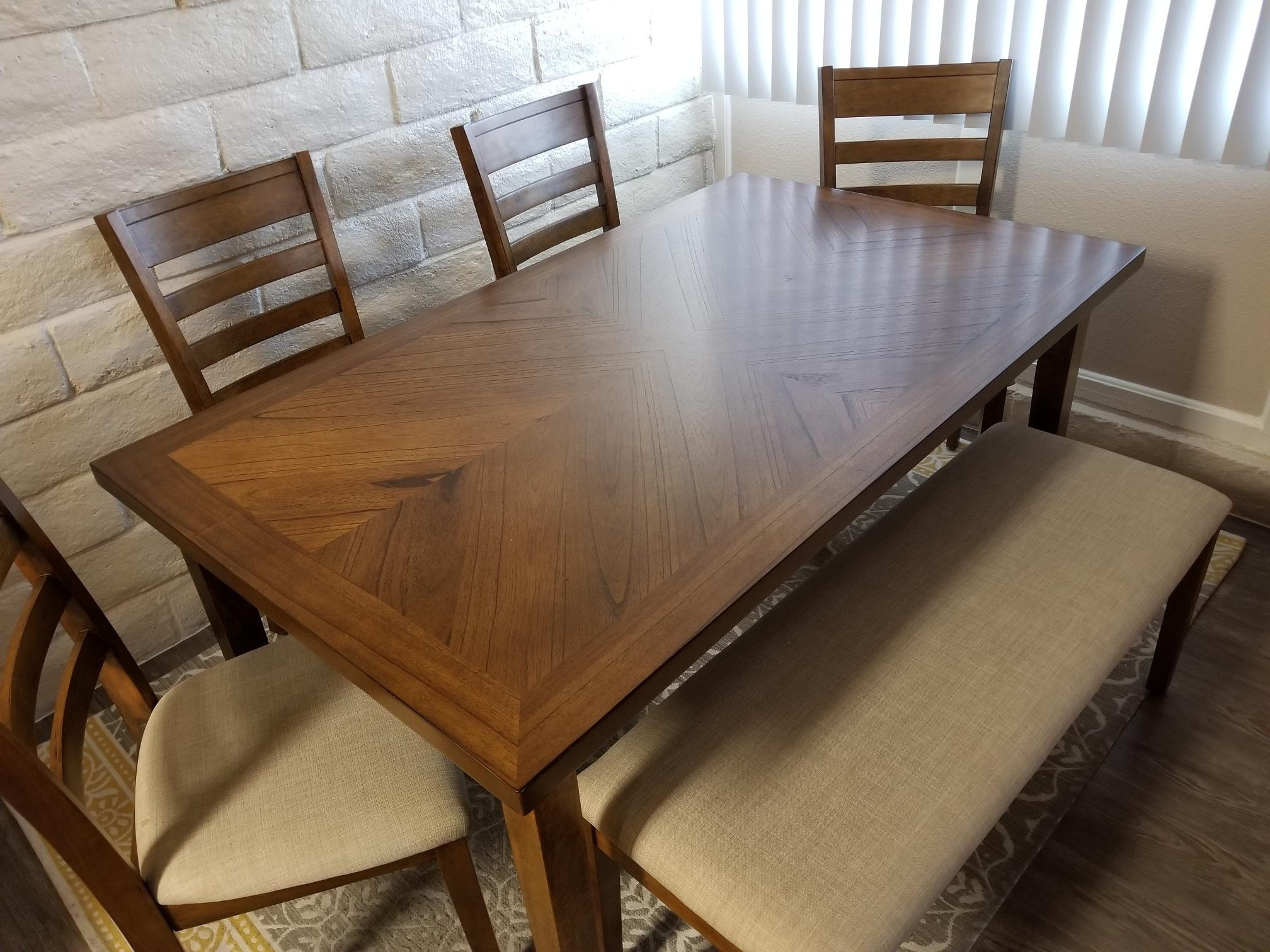 2010s Patterson 6 Piece Dining Set For Sale   Image 5 Of 7