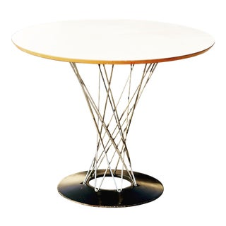 "Vintage Mid Century Knoll Noguchi Cyclone 36"" Table For Sale"