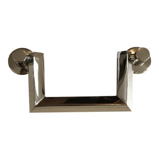 "Modern Waterworks Ridley 4"" Polished Nickel Pull For Sale"