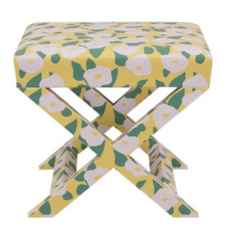 X Bench in Yellow Belle Du Jour For Sale