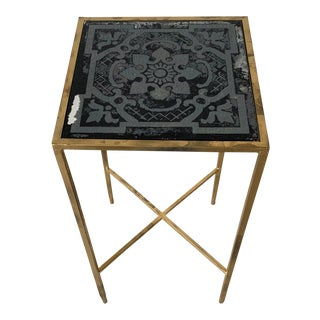 Modern Custom Made Black Wine Table For Sale