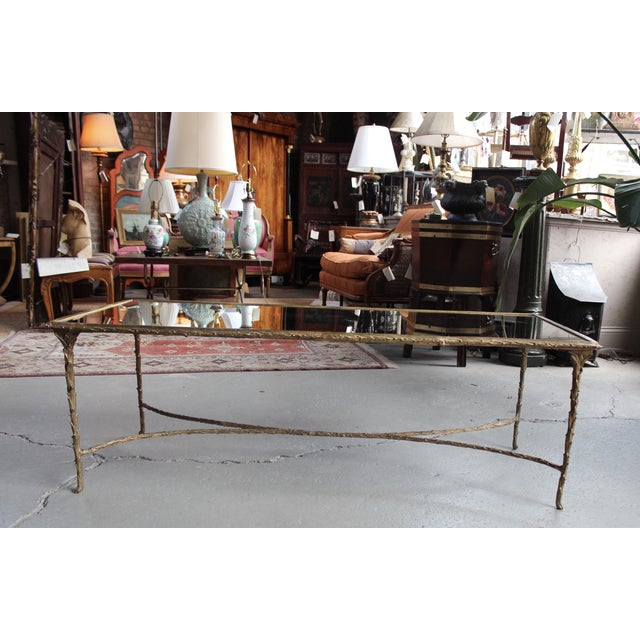 Maison Bagues Style Bronze Cocktail Table - Image 2 of 6