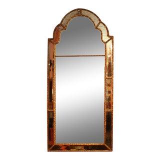 Queen Ann Giltwood Mirror, 18th Century For Sale