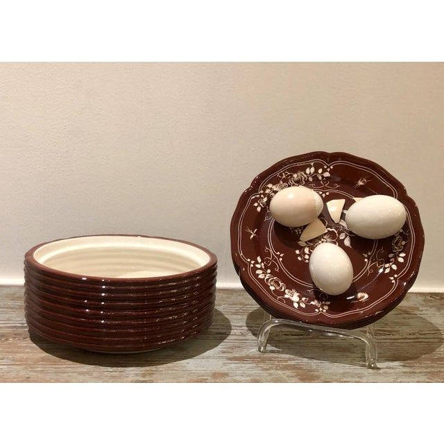 Cottage Trompe l'Oeil Egg Container For Sale - Image 3 of 8