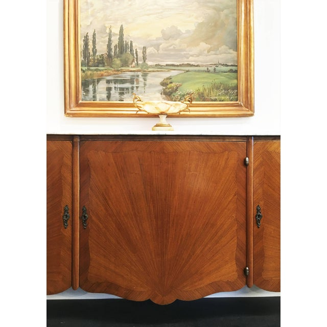 Louis XV French Transitional Louis XV / XVI Buffet For Sale - Image 3 of 9