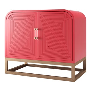 Avery Credenza - Bull's Eye Red For Sale