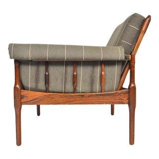 Torbjørn Afdal Lounge Chair in Rosewood For Sale