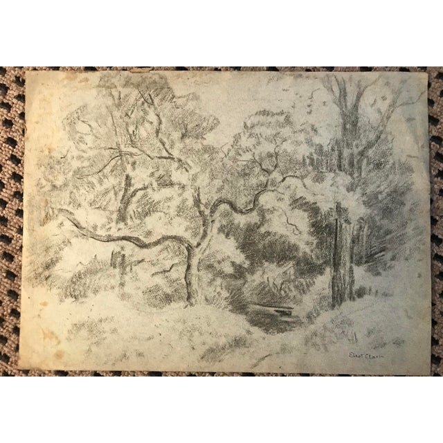 Eliot Clark (1890-1980) Landscape Signed lower right