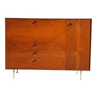 1960s Mid Century Modern George Nelson Herman Miller Thin Edge Secretary Desk For Sale