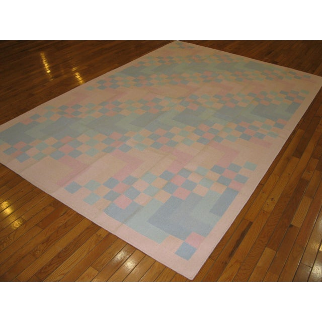 Reversible Indian Dhurry Rug - 6'1'' X 9'2'' - Image 5 of 5