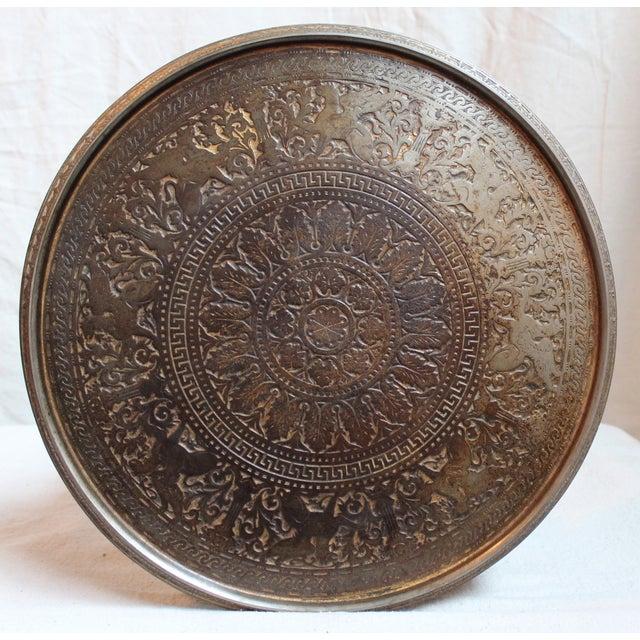 19th Century Gilt Metal Gueridon Table - Image 5 of 9
