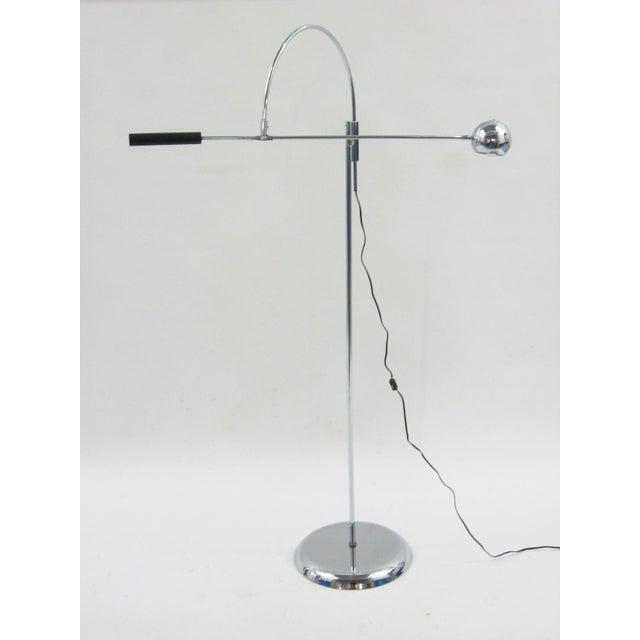 Orbiter floor lamp by Robert Sonneman - Image 6 of 11