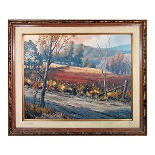 Americana Painting by Walt Disney Artist Lynn Karp For Sale