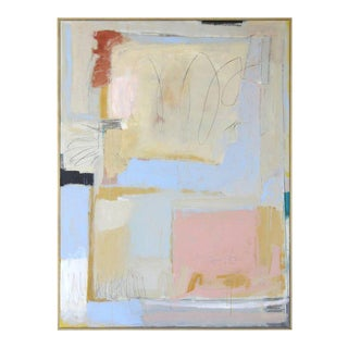Large Abstract Painting by Claiborne Riley