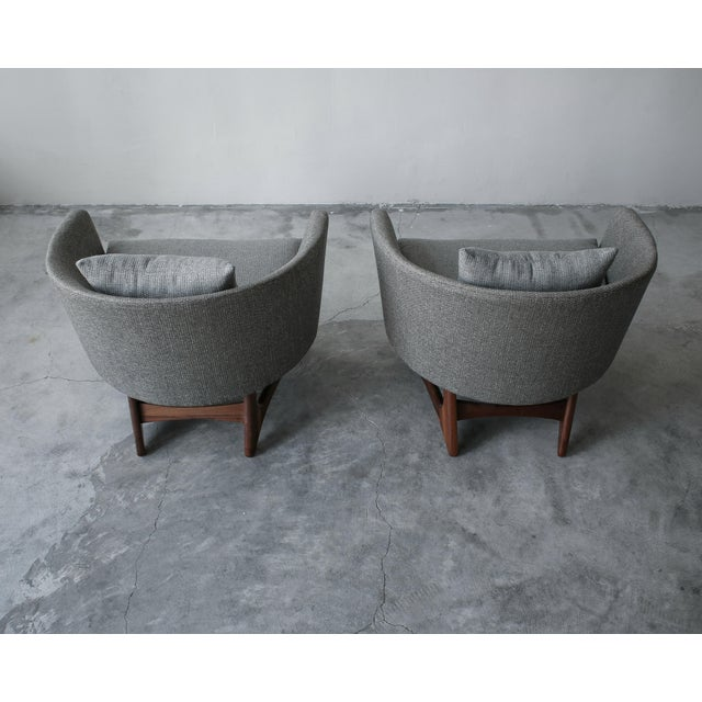 1960s Mid-Century Lounge Chairs by Adrian Pearsall for Craft Associates - a Pair For Sale - Image 5 of 7