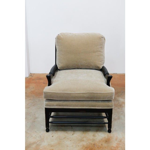 Transitional Mohair Side Chair - Image 2 of 6