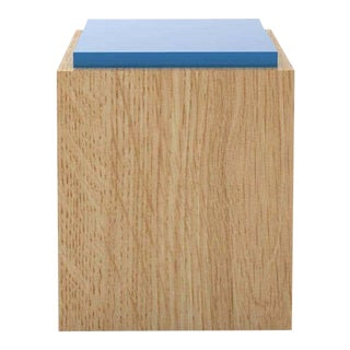 Contemporary 103C Side Table in Color by Orphan Work For Sale
