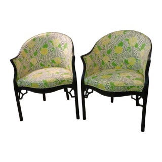 Brighton Pavilion Club Chairs - A Pair For Sale
