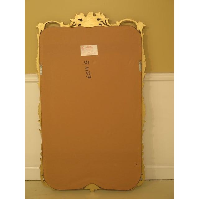 Friedman Brothers Gold Framed Beveled Glass Mirror For Sale - Image 9 of 10