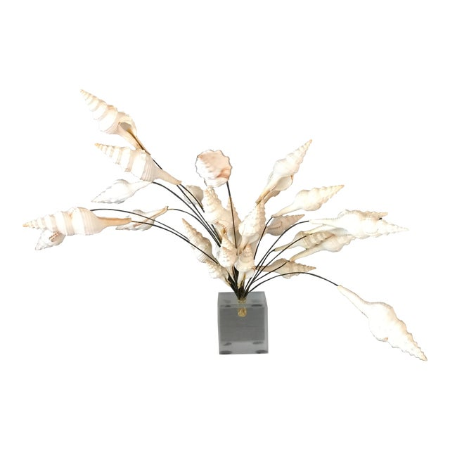 Seashell Bouquet Sculpture - Image 1 of 8