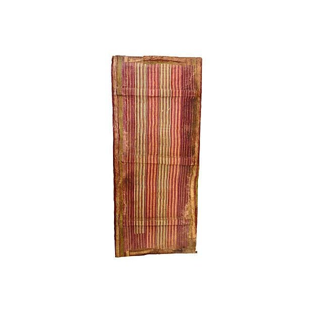 Wood Yoruba Beaded Panel Door For Sale - Image 7 of 8