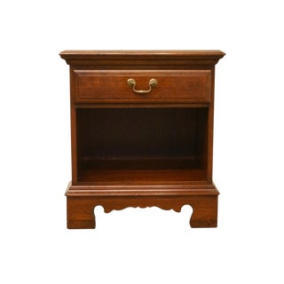 20th Century Traditional Pennsylvania House Solid Cherry Nightstand For Sale
