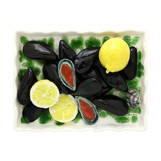 French Trompe l'Oeil Mussels Platter