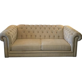Chesterfield Tufted Sofa For Sale
