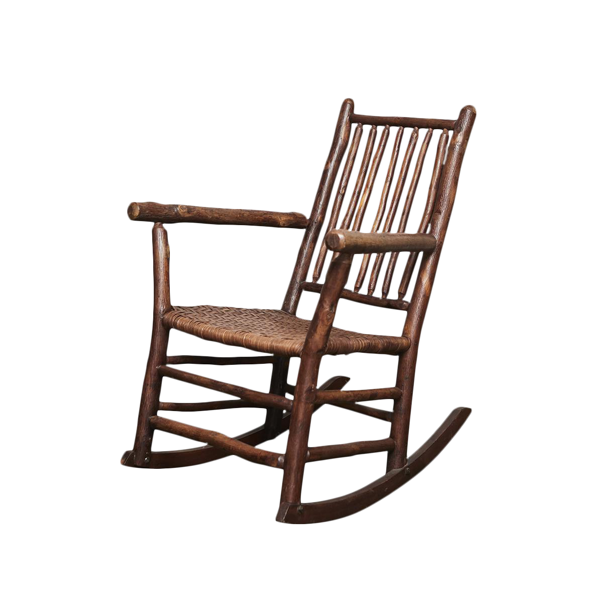 1930s Old Hickory Rocking Chair   Image 1 Of 10