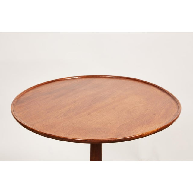 Late 18th Century George III Mahogany Side Pedestal Table For Sale In Los Angeles - Image 6 of 7