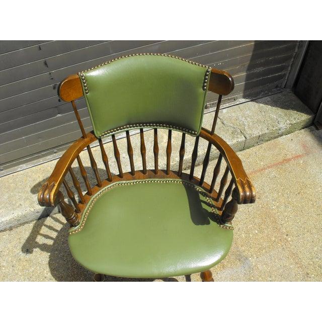 Nichols & Stone Arm Chairs - Set of 4 - Image 5 of 8
