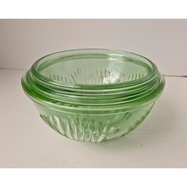 Depression Glass Mixing Bowls - Set of 3 For Sale - Image 7 of 7