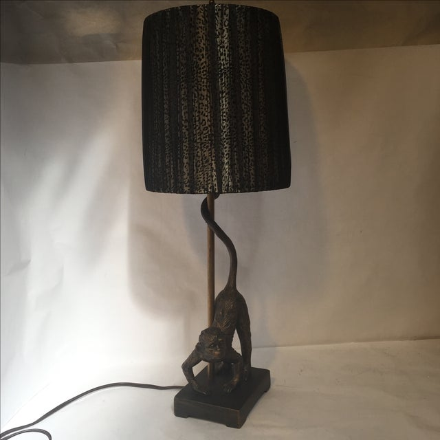Monkey Business Table Lamp - Image 2 of 11
