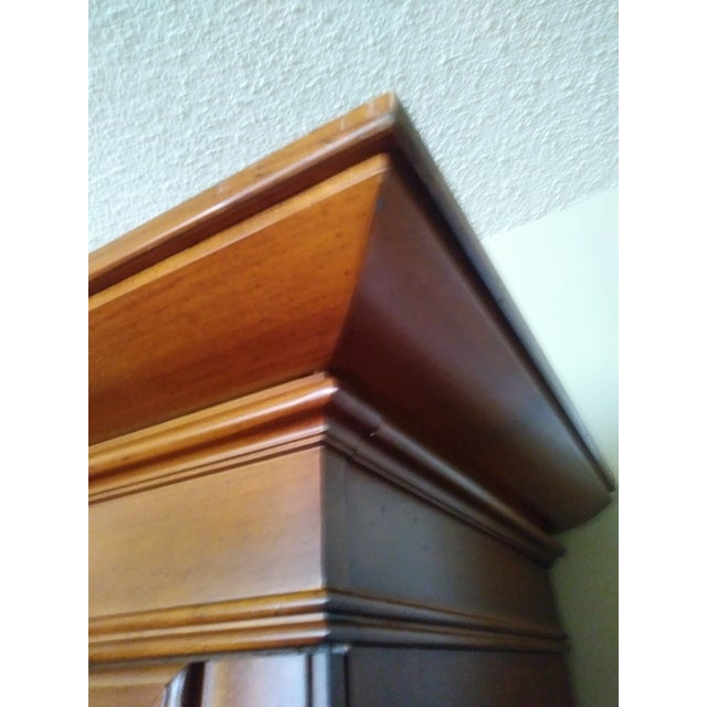 Stanley Furniture Wooden Armoire - Image 7 of 9