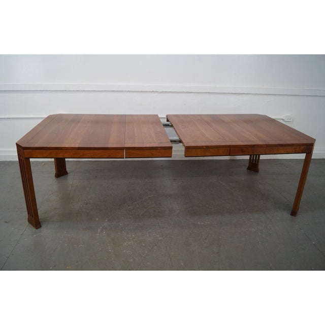 Stickley 21st Century Arts & Crafts Dining Table - Image 9 of 10