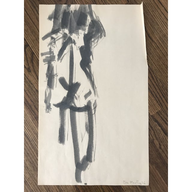 Nude Watercolor Painting For Sale In Minneapolis - Image 6 of 6