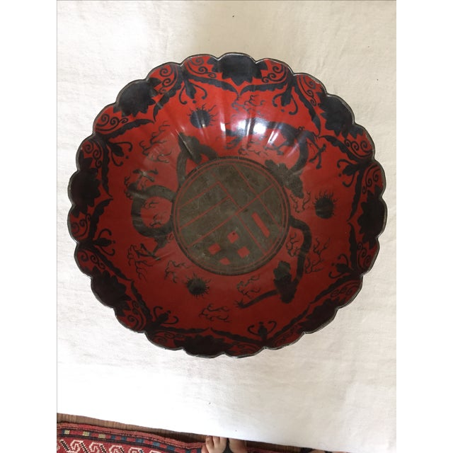 Japanese Silver Luster Bowl - Image 2 of 6