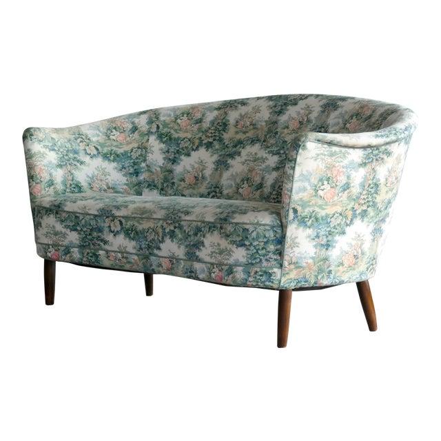Carl Malmsten Loveseat Or Small Sofa For O.H. Sjogren