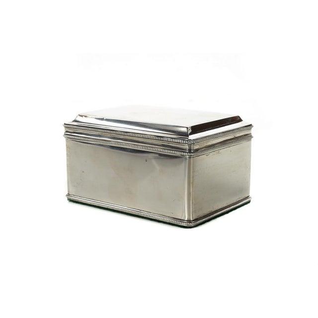 Dutch Silver Biscuit Box Mark of Bonebakker For Sale - Image 4 of 9