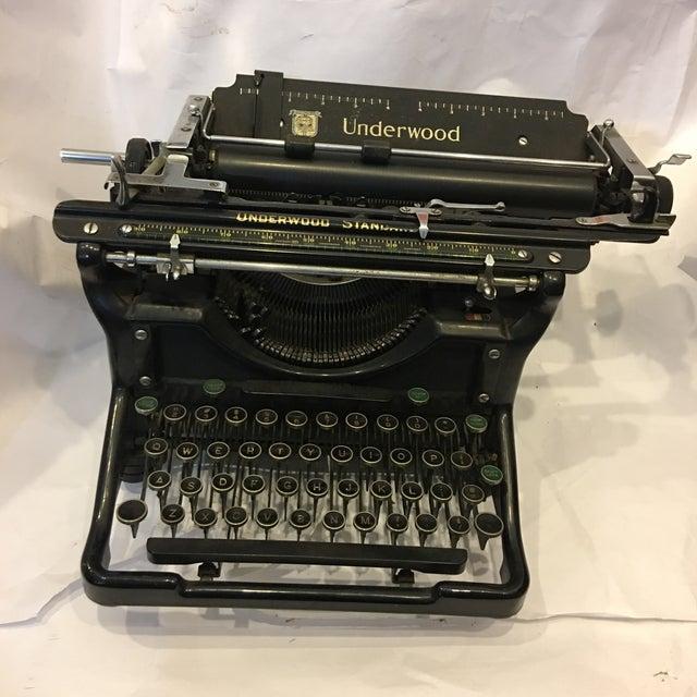 Vintage Underwood Standard Typewriter - Image 4 of 10
