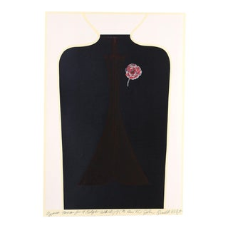 "John Russell Clift, ""Upper Torso for a Flyer Whirligig (No One ""B"")"" Serigraph For Sale"