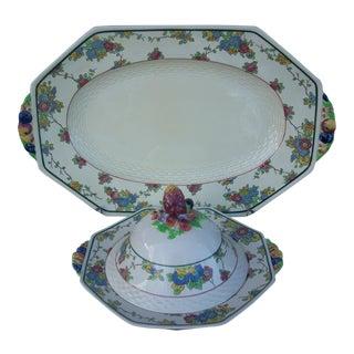 Royal Doulton Platter & Tureen For Sale