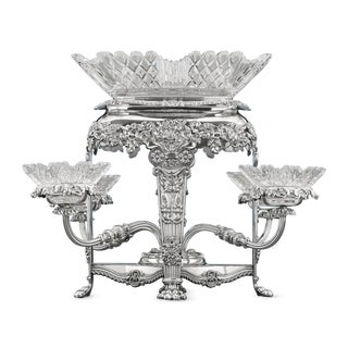 Sheffield Silver Plate Epergne
