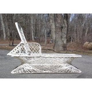 Vintage Mid Century Modern Spun Fiberglass Chaise Lounge Chair Russell Woodard Preview