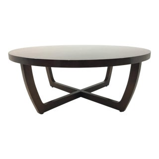 Swaim Co. Wood Greer Modern Cocktail Table For Sale