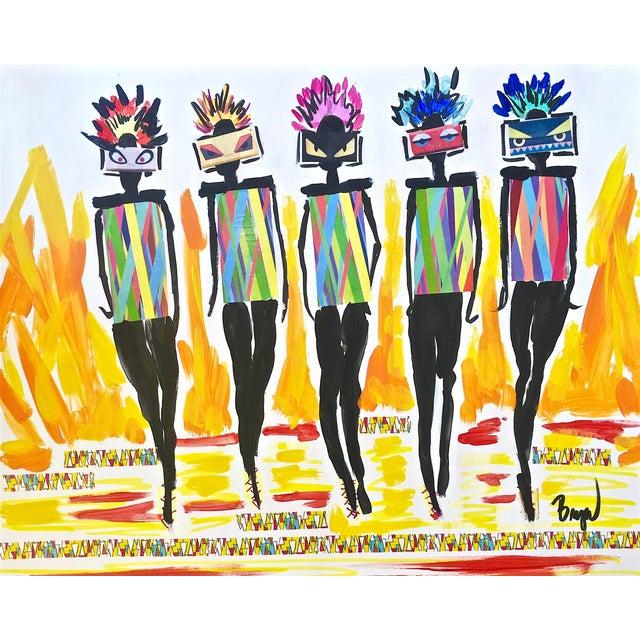 Fashion Illustration by Bryan Boomershine For Sale