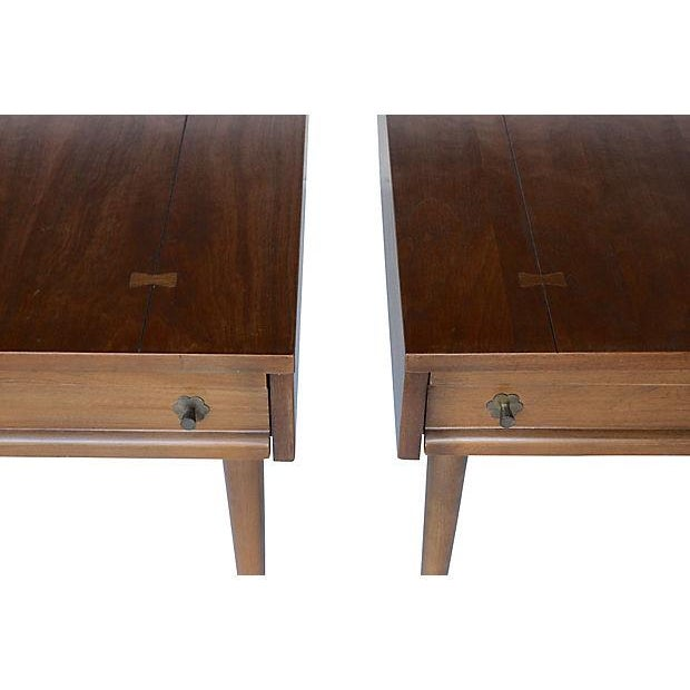 American of Martinsville Mid-Century End Tables - Pair - Image 4 of 7