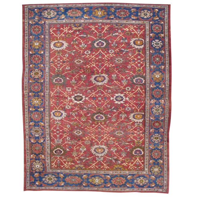 Fantastic Antique Sultanabad Carpet For Sale
